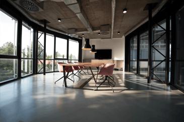 open plan boardroom sick building syndrome