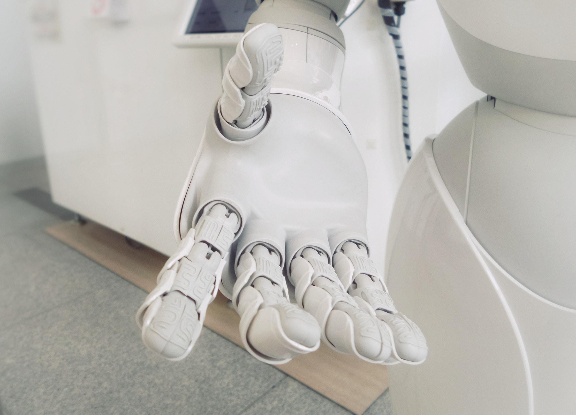 IoT robot hand