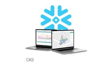 Metrikus laptop screens collaborating with Snowflake