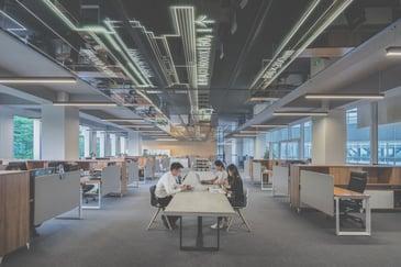 occupancy monitoring open plan office