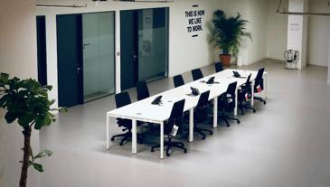 board room office environment
